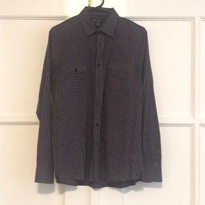 Kenneth Cole casual bottom down shirt